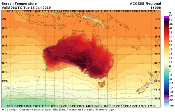 This Totally Real Map Makes It Look Like Australia Is on ...