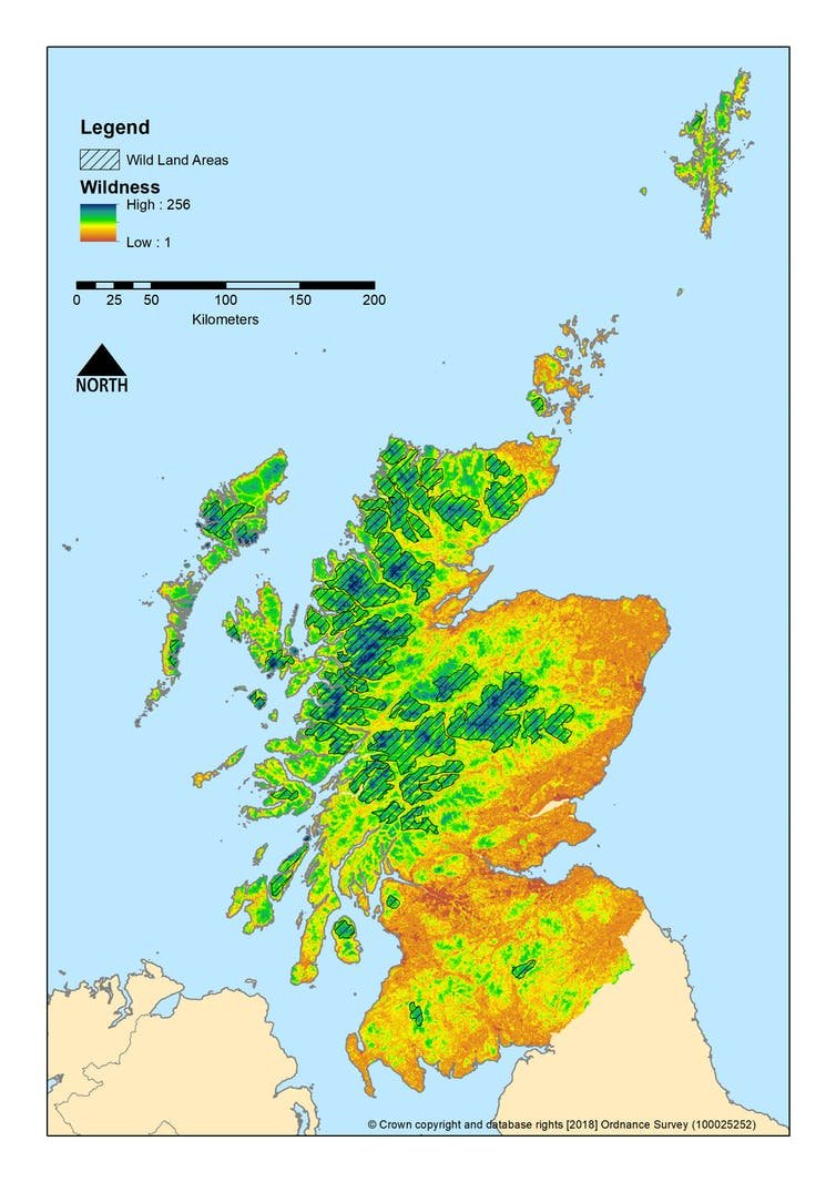 Scotland's wilderness. (Steve Carver, Author provided)