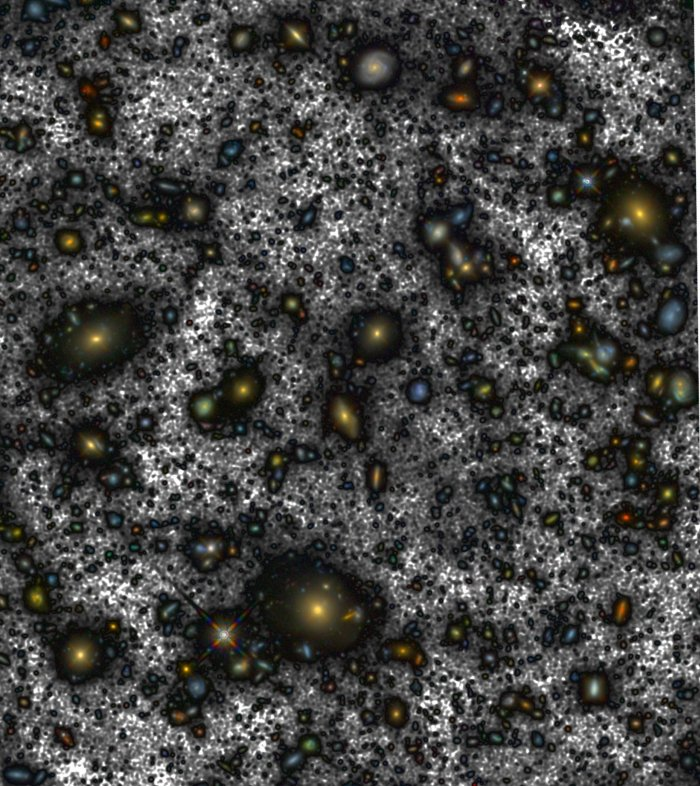 hubble ultra deep field abyss inset