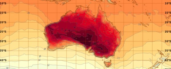 This Totally Real Map Makes It Look Like Australia Is on Fire, And ...