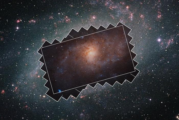 triangulum galaxy mosaic