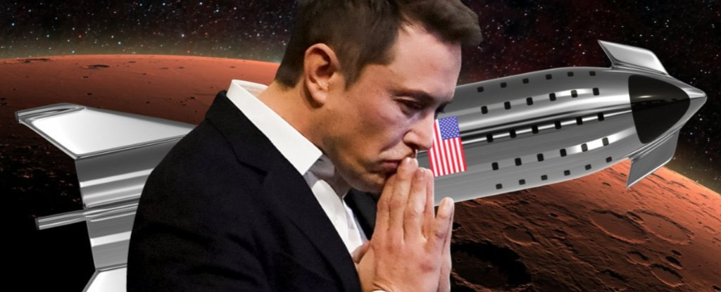 Elon Musk Says SpaceX Is Developing a Complex 'Bleeding' Heavy-Metal Rocket Ship