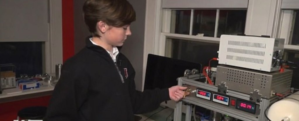 A 14-Year-Old Kid Has Reportedly Become The Youngest Known Person to Achieve Nuclear Fusion