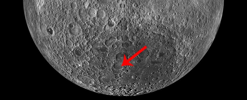 NASA's Lunar Satellite Has Spotted China's Lander on The Far Side of The Moon