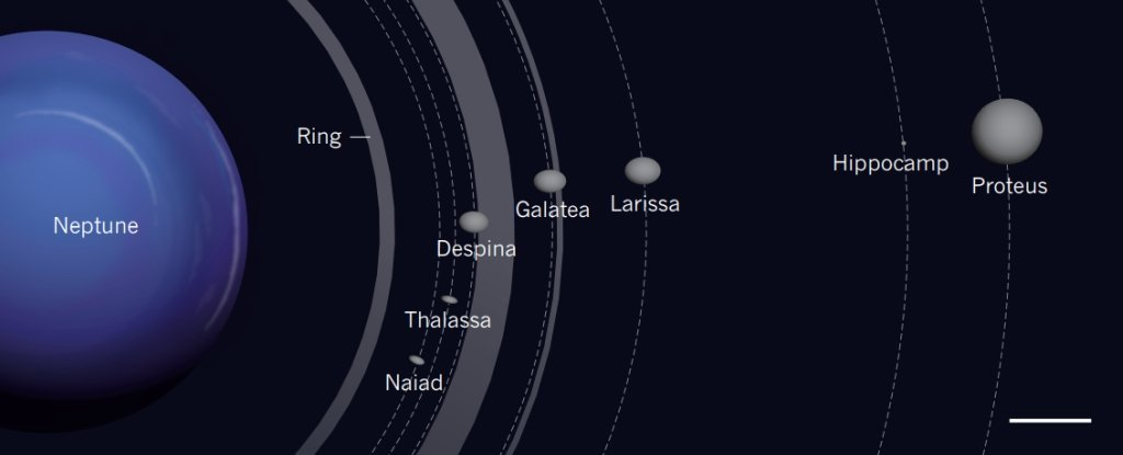 Astronomers Have Discovered an Incredibly Small Object Orbiting Neptune