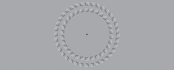 This simple optical illusion could actually cause a delay in your brain