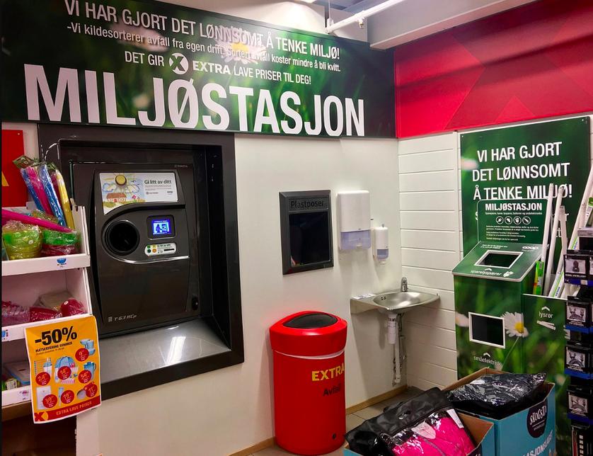 Nórsko recykluje 97% plastových fliaš