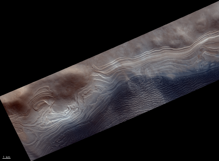 South polar layered terrains node full image 2