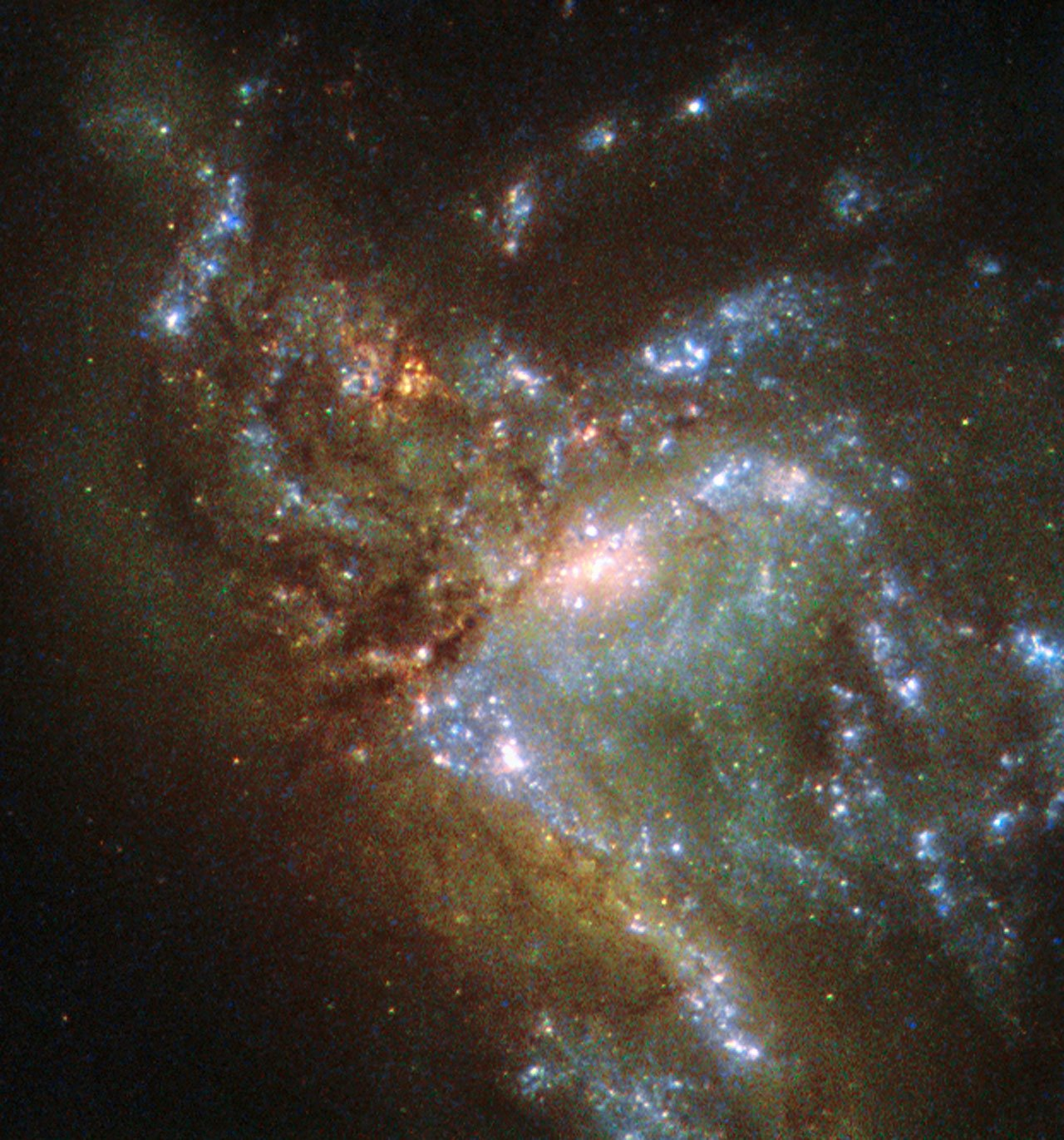 NASA Has Released a Breathtaking New Hubble Image of Two ...