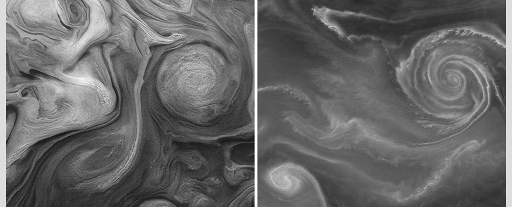 These Stunning Photos Show Eerie Similarities Between Earth And Jupiter