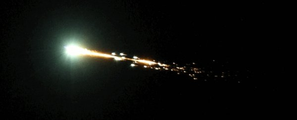 A Meteor as Powerful as 10 Nuclear Bombs Exploded in The Sky