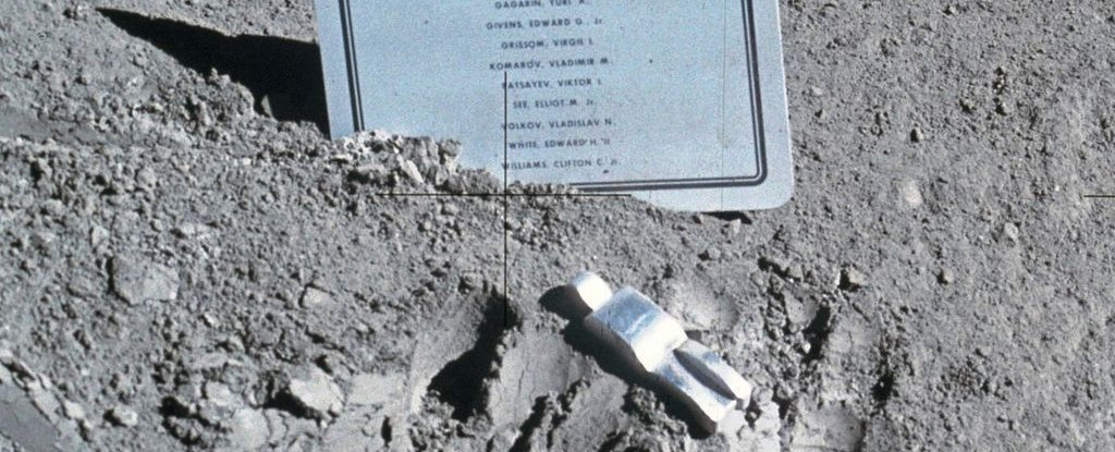 Up on The Moon, There's a Tiny Monument That Will Break Your Heart