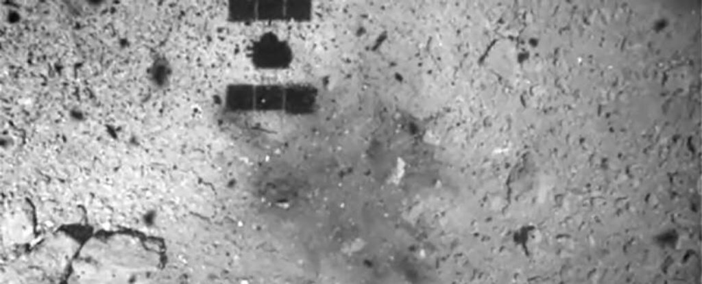 First Images Reveal The Unexpectedly Huge Result of Japan's Asteroid Bomb