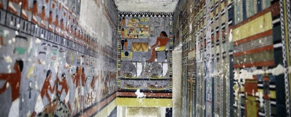 These 2 spectacular Egyptian tombs still look freshly painted after thousands of years