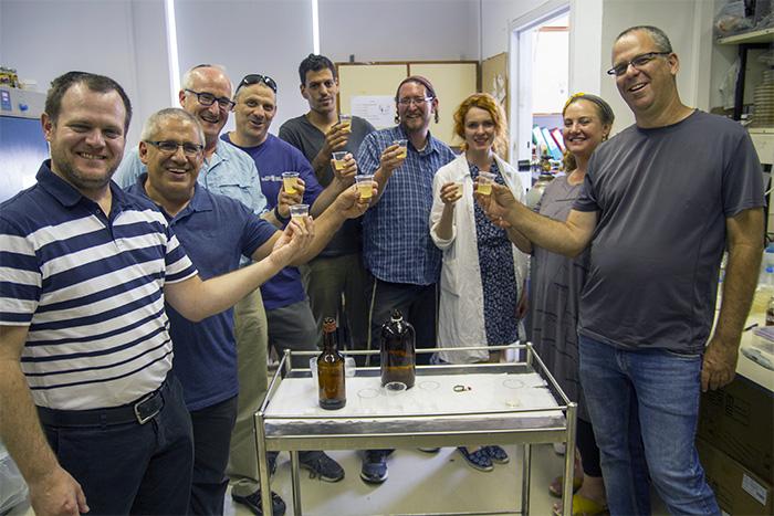 egyptian beer team photo