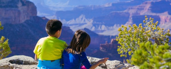 Being in nature as a kid is linked to better mental health in adulthood