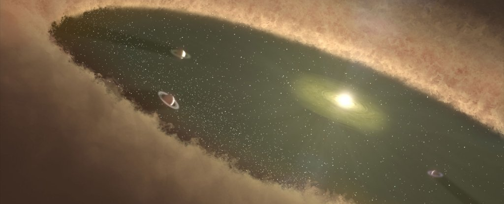 'Groundbreaking' Sharp Images of Distant Planetary System Show 3 Planets Are Missing