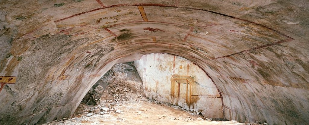 A Hidden Underground Chamber Has Been Found in The Palace of Emperor Nero