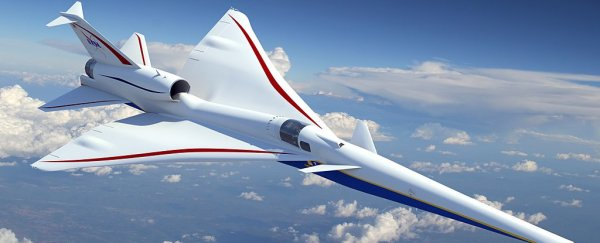 NASA's new supersonic jet will be missing a front window