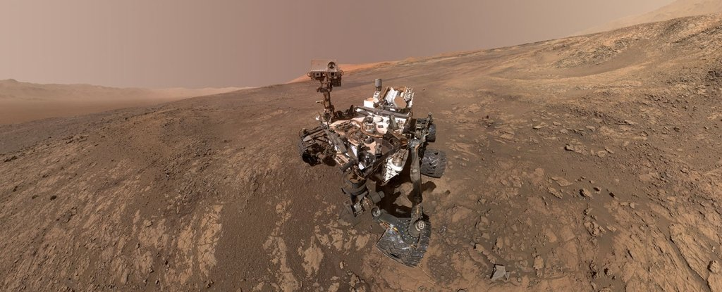 Curiosity has detected a large methane spike on Mars