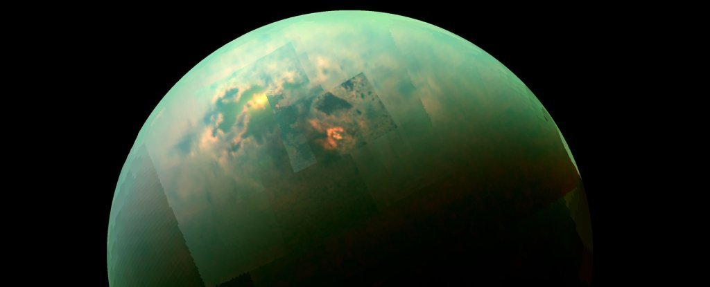 Alien Crystals Unlike Any Found on Earth Might Encrust The Edges of Titan's Lakes