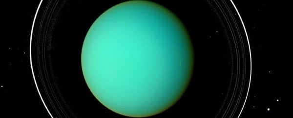 Stunning Images Show The Rings Of Uranus Are Like Nothing Else In The Solar System