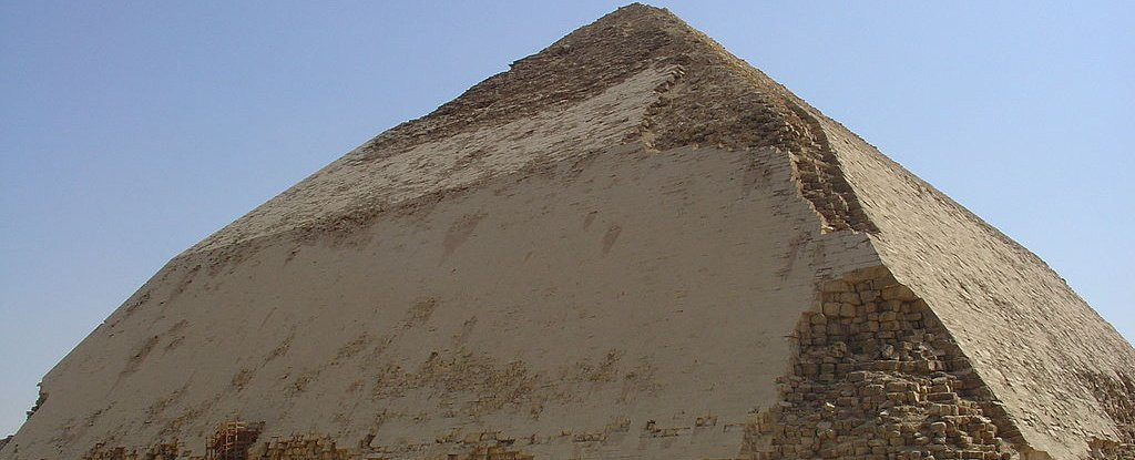 Egypt Is Opening Up Its Ancient 'Bent' Pyramid And Letting People Inside Its Chambers