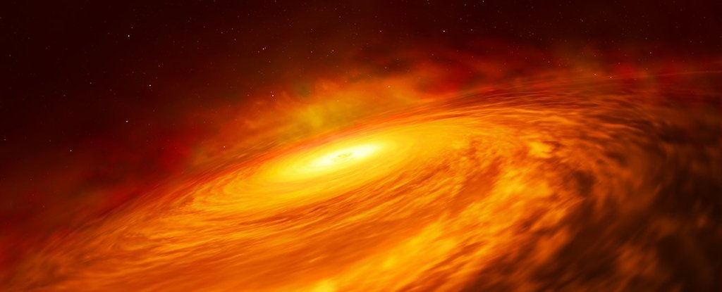 The Hubble Telescope Might Have Found The Weirdest Black Hole to Date