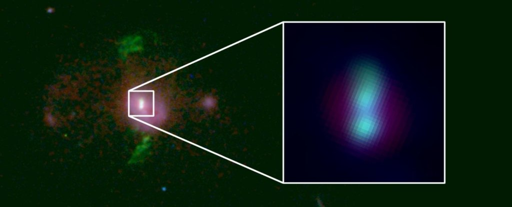 Astronomers Just Detected 2 Supermassive Black Holes on a Course For Collision