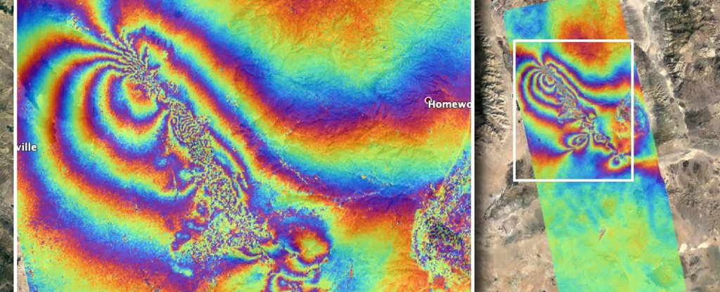 Striking NASA Maps Reveal How The California Earthquakes Altered The Planet's Surface