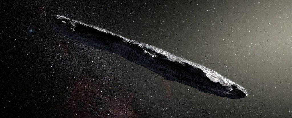 Astronomers Have Analysed Claims 'Oumuamua's an Alien Ship, And It's Not Looking Good