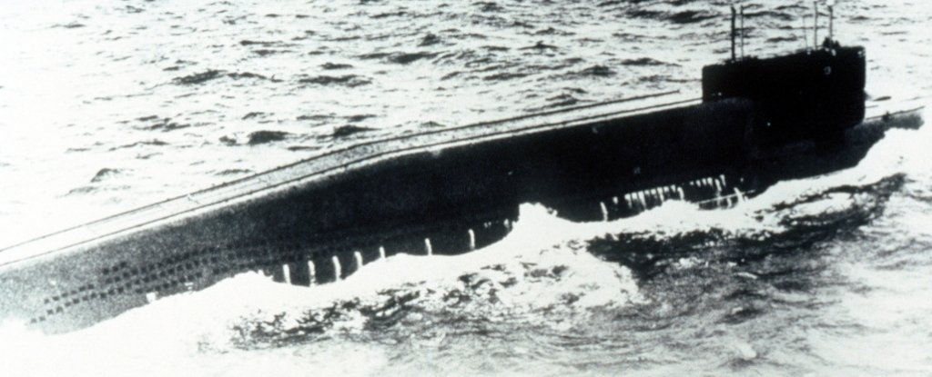A Sunken Nuclear Submarine Is Leaking Radioactive Material Into The Atlantic Ocean