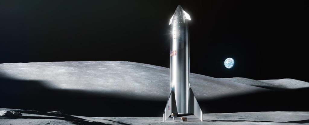 spacexmarsspaceship
