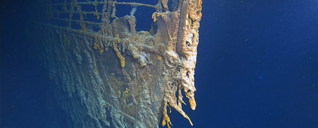 New Images of The Titanic Reveal How The Wreck Is Being 'Consumed' by Ocean Microbes