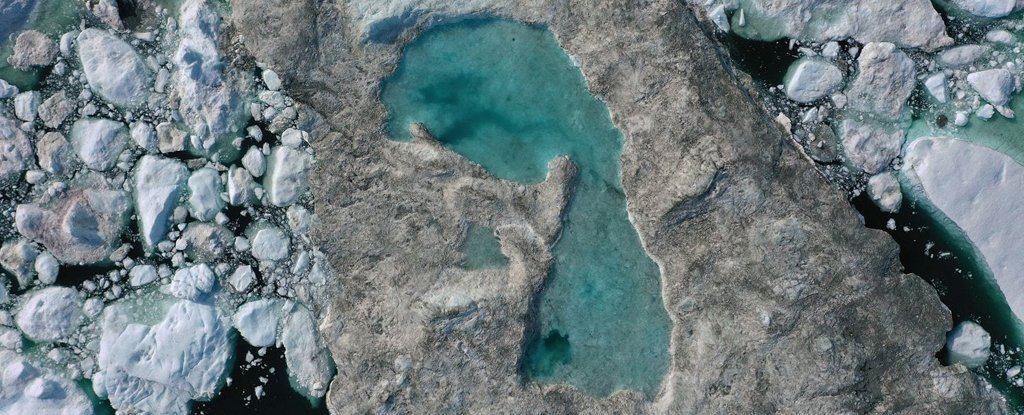 Greenland's in The Middle of a Record Melting Event, as The Arctic