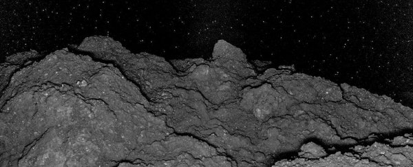 Incredible images show something uncannily familiar about the rocks on asteroid Ryugu