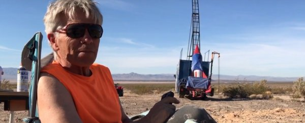'Mad' Flat-Earther is preparing for another homemade rocket launch