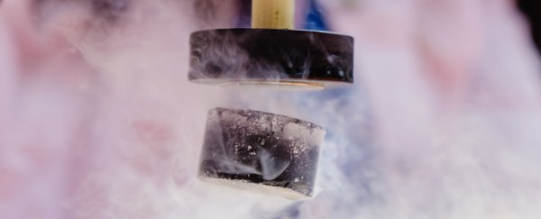 Physicists find evidence of superconductivity at temperatures well above the current threshold
