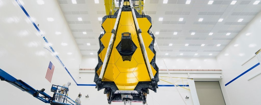 The James Webb Space Telescope Has Been Fully Assembled, And It Looks Epic