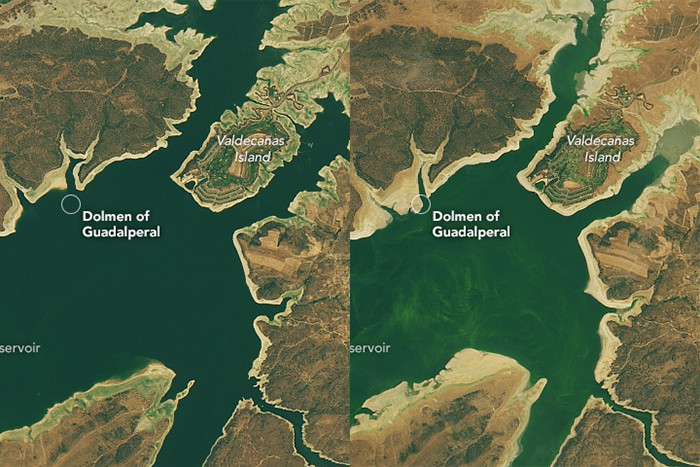 nasa landsat image comparison