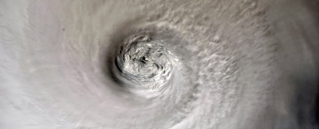 Chilling Photos Taken From Space Reveal The True Scope of Hurricane Dorian