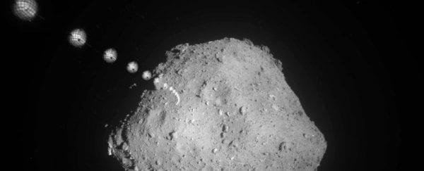 Japan is about to deploy another lander on the surface of asteroid Ryugu