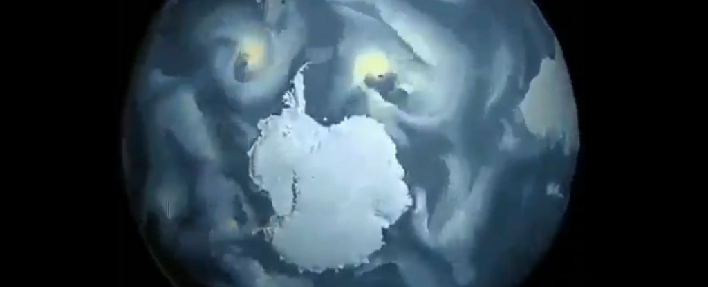 Hypnotic Time-Lapse Shows The Surreal Patterns of Antarctica's Tempestuous Winds
