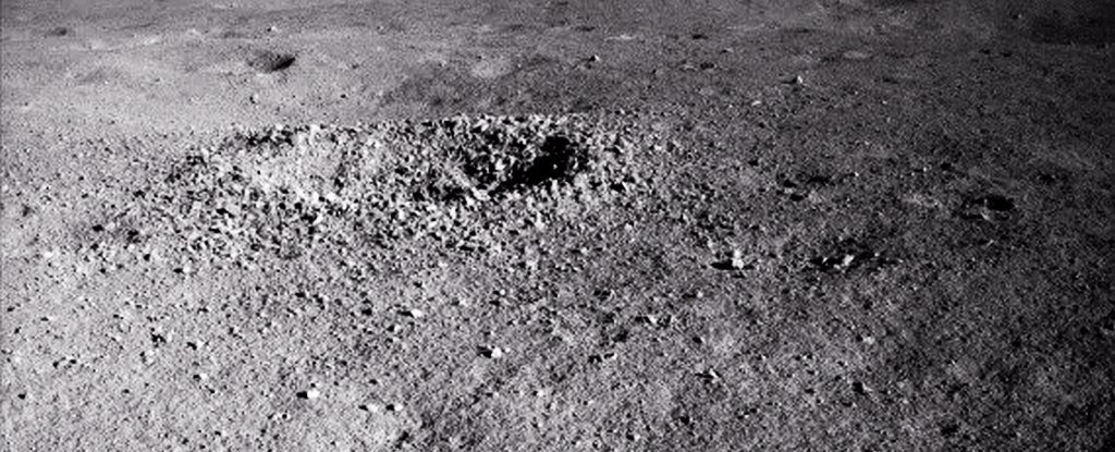 China's Lunar Rover Finds a 'Gel-Like' Substance on The Far Side of The Moon