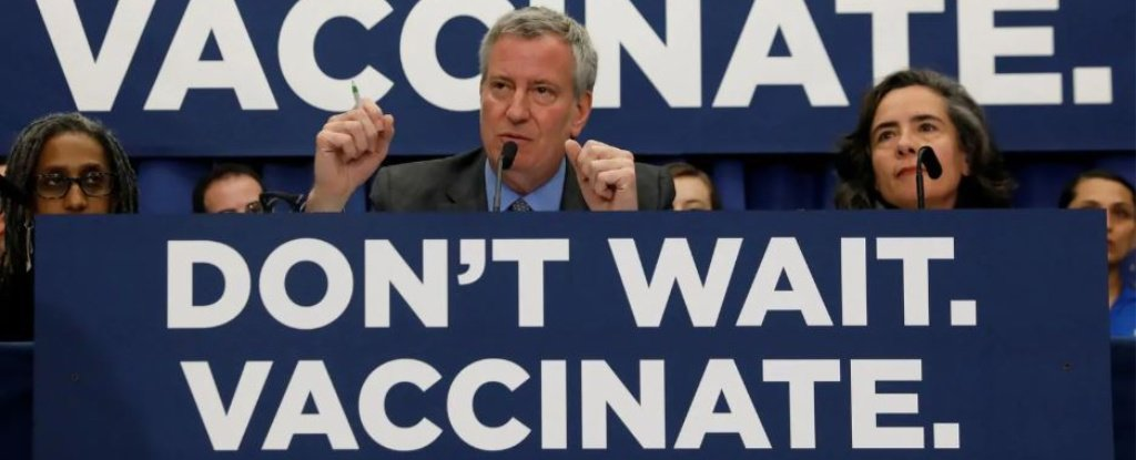 New York City Declares End to Largest Measles Outbreak in 30 Years