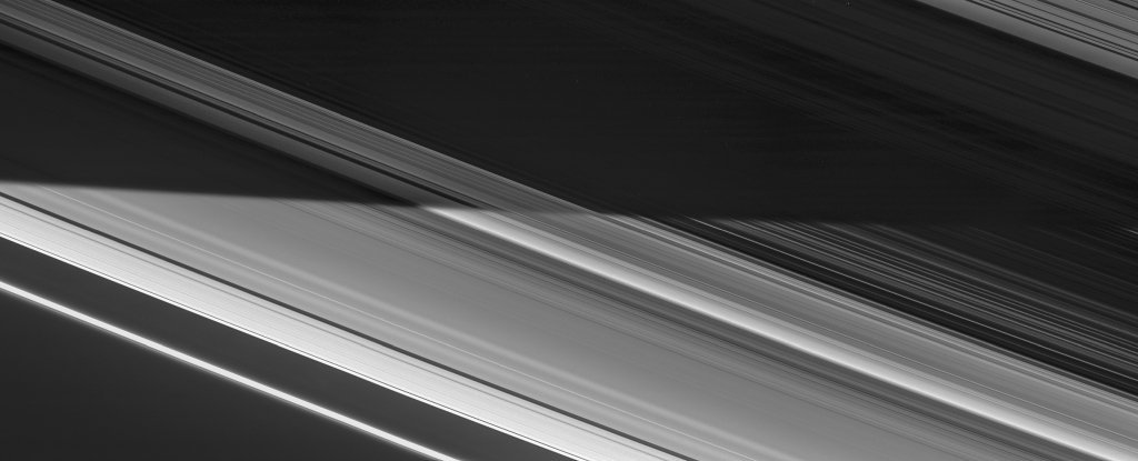 Breathtaking Image Shows The Stark Divide Between Day And Night on Saturn's Rings