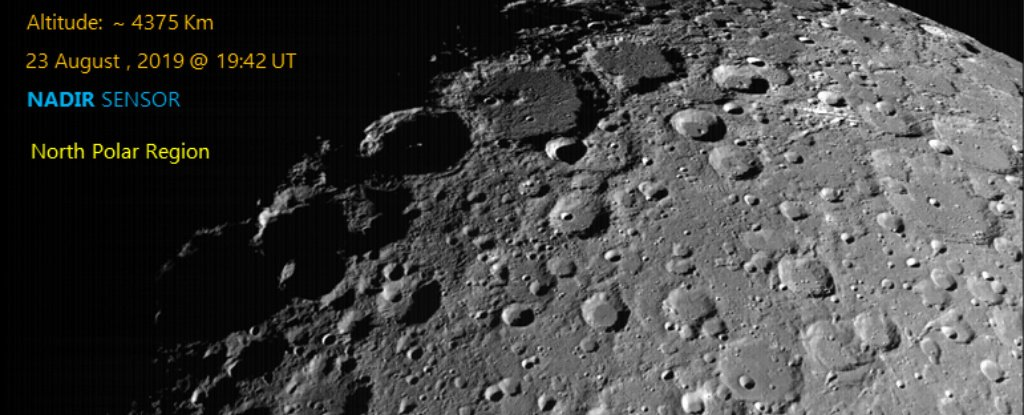 Update: India Has Located Its Lost Moon Lander And Is Trying to Make Contact