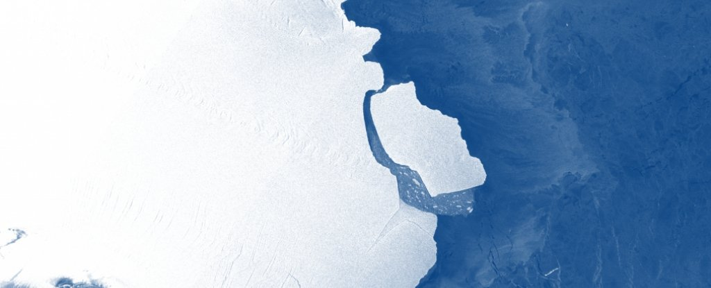 A Giant Iceberg Just Broke Off Antarctica in an Unexpected Location