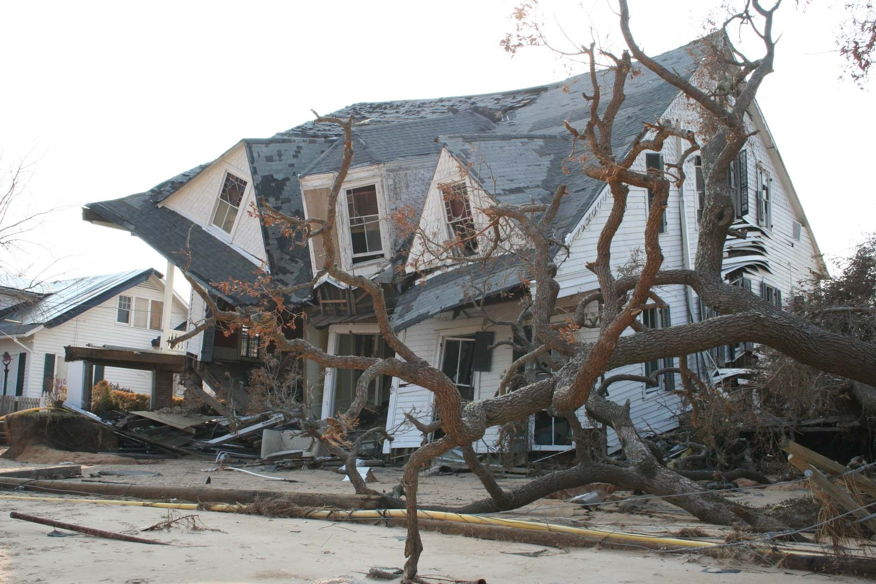Aftermath of Hurricane Katrina in September, 2005. (Barbara Ambrose/NOAA)