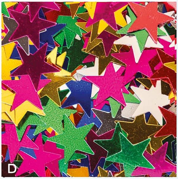 confetti stars from paper